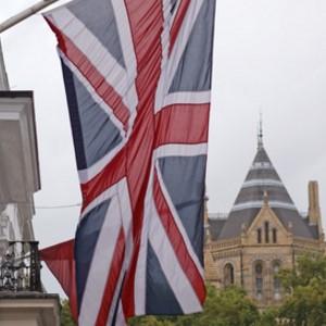 Flag on the house